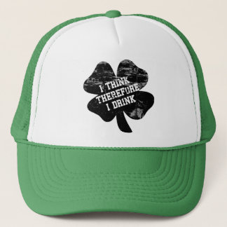 I think therefore I drink Trucker Hat