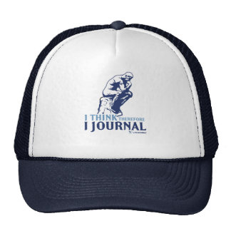 I Think Therefore I Journal Trucker Hat