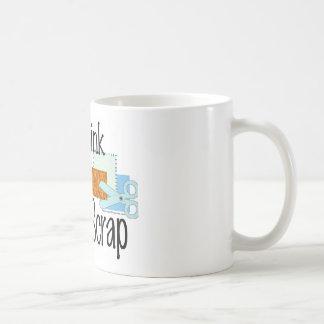 I Think Therefore I Scrap Coffee Mug