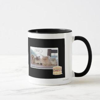I think there's a spy among us mug