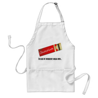 I think this qualifies as a chocolate emergency adult apron