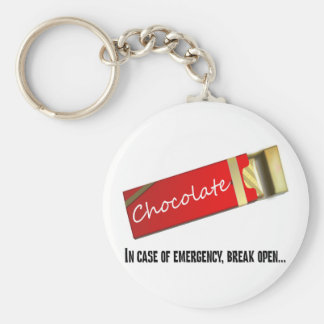 I think this qualifies as a chocolate emergency keychain