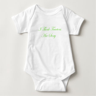 I Think Tractors Are Baby Bodysuit