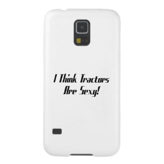 I Think Tractors Are  Tractor Gifts Galaxy S5 Case