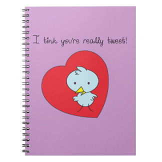I Think You're Sweet Notebook