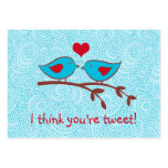 I think you're tweet valentine cards business cards