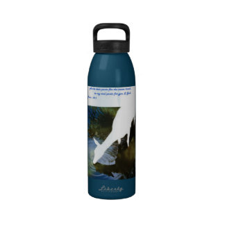 I Thirst for Thee O God Liberty Bottle Reusable Water Bottles