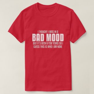 I thought I was in a bad mood, T-Shirt