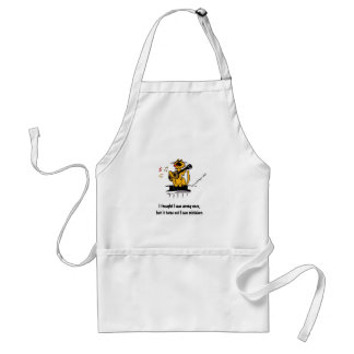 I thought I was wrong once, but it turns out I was Adult Apron