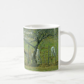 I thought it was Cow tippin'... Not Cow Kissin'..! Coffee Mug