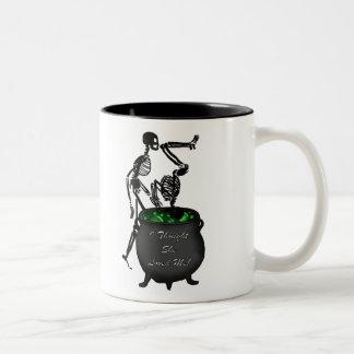 I thought she loved me Two-Tone coffee mug