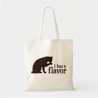 i tiene un gato del gatito del sabor bolsas