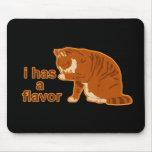 I tiene un sabor, CAT de LOL Alfombrillas De Raton