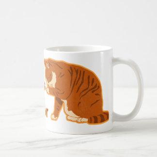 I tiene un sabor, CAT de LOL Taza Básica Blanca