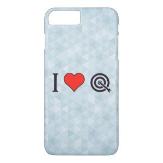 I tiroteo de la flecha del corazón funda iPhone 7 plus