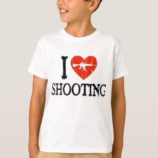 I tiroteo del corazón playera