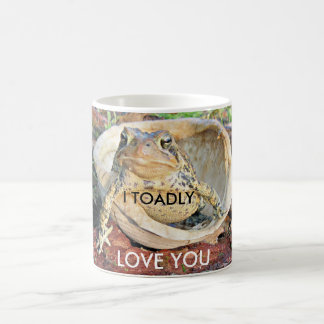 I Toadly Love You Toad Sitting In A Turtle Shell Coffee Mug