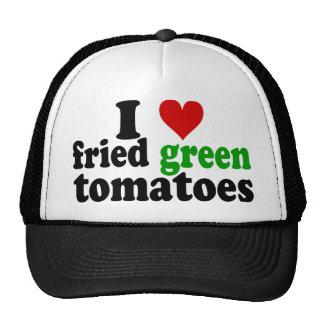 I tomates verdes fritos corazón gorro de camionero