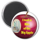 I Took a Bite of the Big Apple by Rossouw Magnet