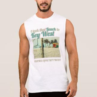 I took that Beach to KeyWest beaches LOVE Key West Sleeveless Shirt