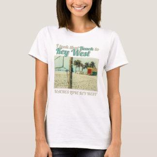 I took that Beach to KeyWest beaches LOVE Key West T-Shirt