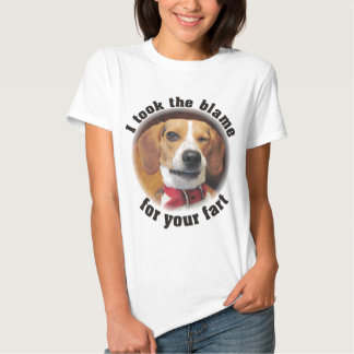 I took the blame for your fart Beagle Dog Funny T T-Shirt