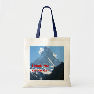 I took the cable car tote bag