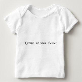 I tought I taw a puddy tat! Baby T-Shirt