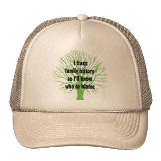 I Trace Family History Trucker Hat