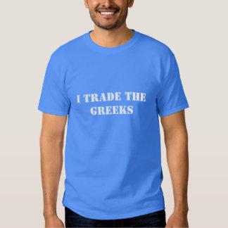 I Trade the Greeks T-shirt