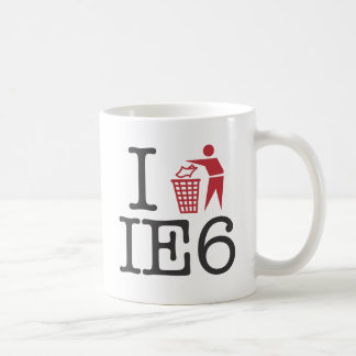 I trash IE6 Coffee Mug