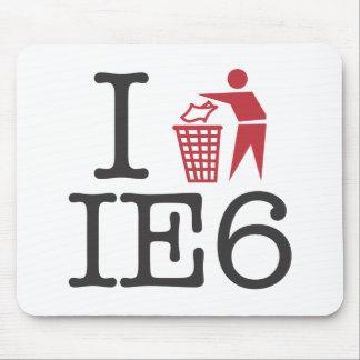 I trash IE6 Mouse Pads