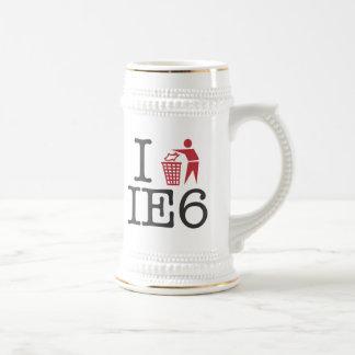 I trash IE6 Coffee Mug