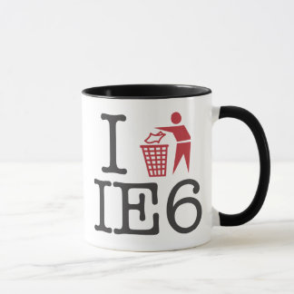 I trash IE6 Mug
