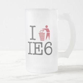 I trash IE6 Coffee Mugs