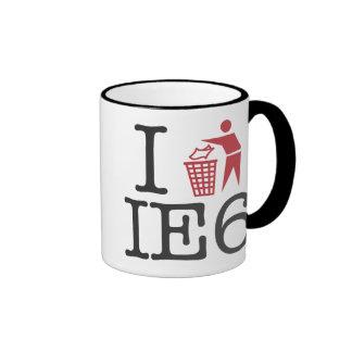 I trash IE6 Ringer Mug