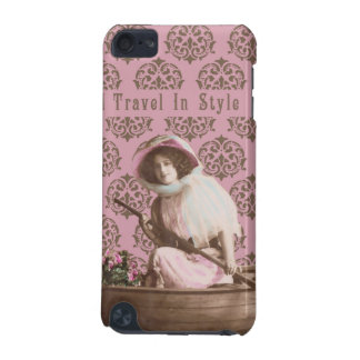 """""""I Travel In Style"""" Vintage Collage iPod Touch (5th Generation) Case"""