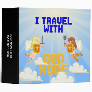I Travel With God Mode Binders