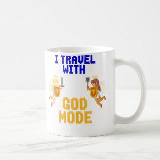 I Travel With God Mode Mug