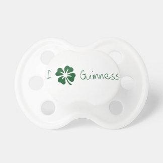 I trébol Guinness Chupete