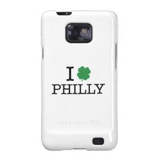 I trébol Philly Galaxy SII Fundas
