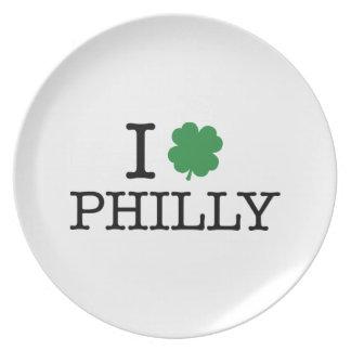 I trébol Philly Platos De Comidas