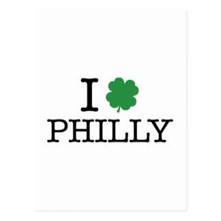 I trébol Philly Tarjetas Postales