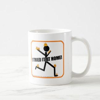 I Tried It At Home Funny Stunts Coffee Mug