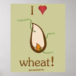 ¡I trigo del corazón! Póster