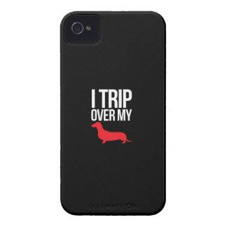 I Trip Over My Weiner iPhone 4 Case