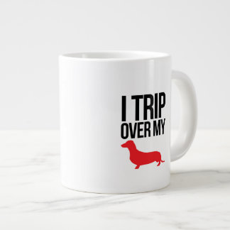 I Trip Over My Weiner Mug