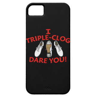 I Triple-Clog Dare You iPhone 5 Cases