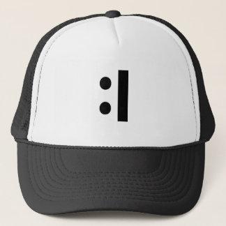 :I TRUCKER HAT