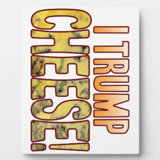 I Trump Blue Cheese Plaque